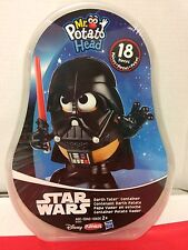 STAR WARS DARTH VADER MR POTATO HEAD DARTH TATER IN CONTAINER 18 PCS - NEW