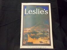 1913 APRIL 10 LESLIE'S WEEKLY MAGAZINE-OHIO VALLEY SWEPT BY FLOOD FIRE - ST 1227