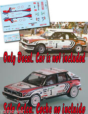 Decal 1:43 Piero Liatti - LANCIA DELTA - Rally El Corte Ingles 1992