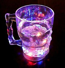 LED Light-up Cup Water Inductive Rainbow Colour Changing LED Flash Light 400ML