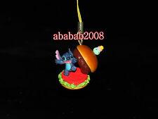 Takara Tomy Disney Lilo Stitch figure Hamburger strap gashapon (one figure)