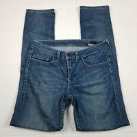 William Rast Skinny Jeans Womens Size 26 Blue Medium Wash Mid Rise Stretch Denim