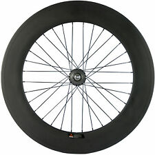 Factory Sale Hot Fixed Gear Carbon Wheelset Rear 88mm Track Wheel Clincher