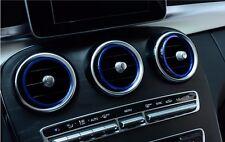 7pcs Air Vent Outlet Ring Cover Trim for Mercedes Benz GLC GLC300 GLC200 GLC250