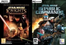 Star Wars Knights of the Old Republic 1 & 2 The Sith Lords & republic commando