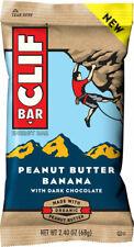 Clif Bar Original: Peanut Butter Banana Dark Chocolate, Box of 12