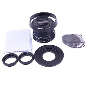 25mm F1.8 APS-C  Manual Focus Fixed Lens for Fujifilm Fuji Cameras C Mount
