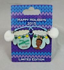 Disney Pin - Holiday Mitten 2015 Port Orleans Resort Tiana Princess and the Frog