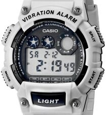 PRE-OWNED $34.95 Casio Men's Vibration Alarm Digital Watch W-735H-8A2VCF NO BOX