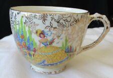 EMPIRE WARE ENGLAND YELLOW CRINOLINE LADY TEA CUP