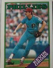 KEVIN GROSS  PHILLIES-1988  TOPPS-#20
