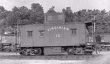 Decals for The Virginian Railway cabooses, in HO-scale