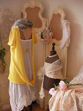 ARROGANT CAT~Unique Lagenlook Layering Open Back Knit Dress~Quirky Design~Size M
