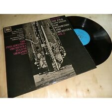 MOZART four concertos for woodwinds and orchestra VOL2 - EUGENE ORMANDY CBS Lp