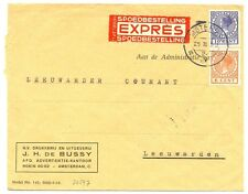 NEDERLAND 1937  EXPRESSE  BRIEF NAAR  LEEUWARDEN    FRAAI