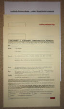 Room Rental Agreement For A Lodger Or Tenant Living In With Their Landlord
