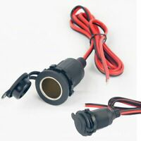 Motorcycle Car Interior Cigarette Lighter Socket Power Connector Charger Plug