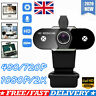 Full HD 1080P Webcam Video Camera With Microphone USB For PC Desktop Laptop Mic