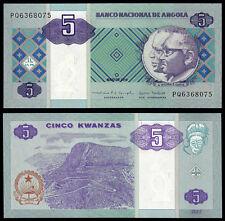 Angola 5 KWANZAS (P144b) 2010 UNC