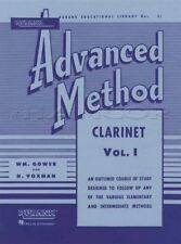 Rubank Advanced Method for Clarinet Volume 1 Sheet Music Book Learn How To Play