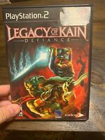 PS2 Legacy of Kain: Defiance (Sony PlayStation 2, 2003) Complete-CIB