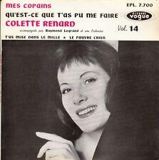 """45 T EP COLETTE RENARD """"MES COPAINS"""""""