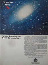 10/1990 PUB AMOCO THORNEL CARBON FIBER ADVANCED COMPOSITES AEROSPACE DESIGNS AD