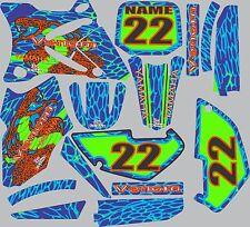 Graphics for 2002-2014 Yamaha YZ85 YZ 85 Decal dirt bike Shrouds Plates snake
