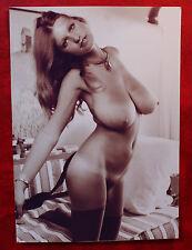 SW Foto, Erotik Nude Akt Sex FKK 60er Jahre, 13x18 - Frau nackt Busen sexy k5