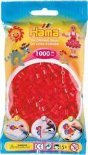 1 000 Beads Standard Midi ( Ø5 MM) Red - Hama