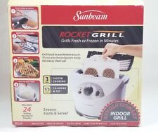 Sunbeam Rocket Grill Indoor Cooking  Fresh or Frozen in Record Time!