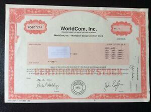 WorldCom,Inc. Big Fraud