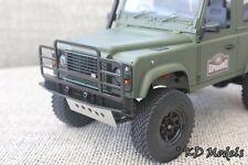 Custom Bull Bar Parachoques para Gelande 1/18 Escala Landrover D90 Crawler RC4WD tipo 2