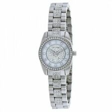 Bulova Womens 96L253 Swarovski Crystal' Quartz Stainless Steel Watch