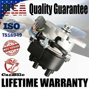 Ignition Distributor For 92-95 Honda Acura Integra Civic DelSol OBD1 V-TEC TD44U