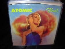 """BLONDIE atomic / die young stay pretty ( rock ) 7""""/45 picture sleeve"""