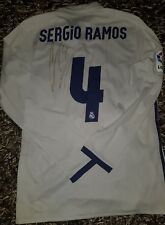 SERGIO RAMOS Signed MATCH WORN Real Madrid shirt player issue Ronaldo adizero