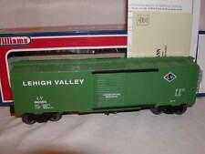 Williams by Bachmann 47081 Lehigh Valley Green 40 Ft Box Car MIB O 027 New