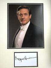 NIGEL HAVERS - DOWNTON ABBEY ACTOR  - EXCELLENT SIGNED COLOUR DISPLAY