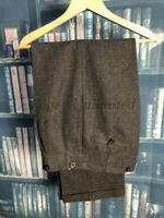 """Vintage Dark brown Tweed Trousers 34-35""""/86-89W-31/76L"""