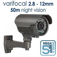 5MP CCTV BULLET CAMERA OUTDOOR 50M IR NIGHT VISION TVI CVI AHD CVBS VARIFOCAL