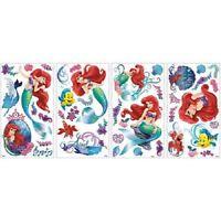 Disney Ariel Little Mermaid Wall Decals Bedroom Girls Decorations Flounder New