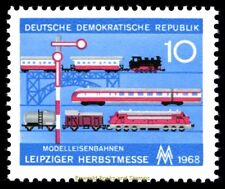 EBS East Germany DDR 1968 Leipzig Autumn Fair - Model Trains Michel 1399 MNH**