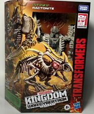 Transformers Generations Kingdom WFC-K15 RACTONITE Deluxe 5in Figure IN STOCK