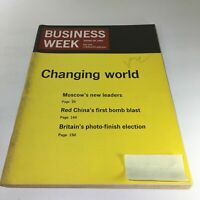 Business Week Magazine: Oct 24 1964 - Changing World & Moscow's New Leader