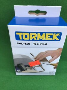 New ( Sold As Used) Tormek SVD-110 Tool Rest. Boxed.