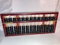 Vintage Wooden Abacus Chinese China Forbidden City Souvenir - Make Offer!