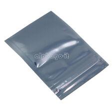 50PCS X 50x90mm ESD Anti-Static Shielding ZIP LOCK Bags USABLE SIZE 40x70mm
