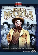 Joel McCrea Westerns Collection (DVD 4-Disc Set) Virginian / Cattle Drive+  New!
