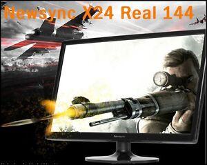 "Bitm - Newsync X24 Real 144 Sonicboom 24"" 1920 X 1080 FHD @144Hz/ WIDE 16:9"